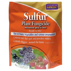 Bonide Sulfur Plant Fungicide Micronized Spray or Dust RTU 4 lb