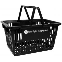 Sunlight Supply Plastic Shopping Basket