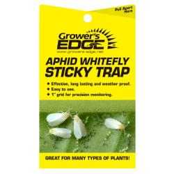Grower's Edge Aphid Whitefly Sticky Trap 5/Pack