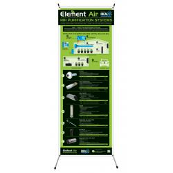 Element Air X-Frame w/ Banner