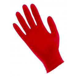Red Lightning Powder Free Nitrile Gloves Medium Box of 100