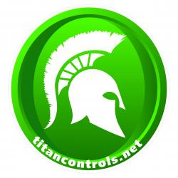 Titan Controls Floor Sticker 30 in x 30 in