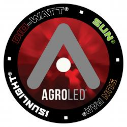 AgroLED Floor Sticker 25 in x 25 in