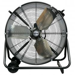 Hurricane Pro Heavy Duty Adjustable Tilt Drum Fan 24 in