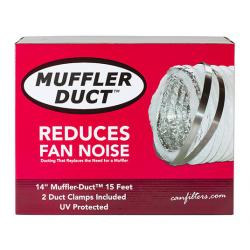 Can-Fan Muffler Ducting 14 in x 15 ft