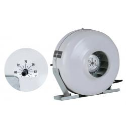 Can Fan 6 in HO Fan w/Thermostat 240 Volt