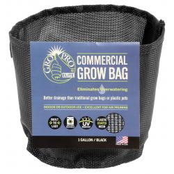 Gro Pro Elite 1 Gallon Black Commercial Grow Bag