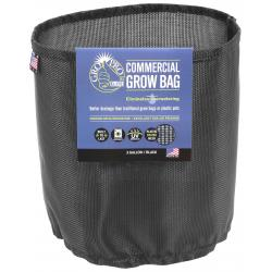 Gro Pro Elite 3 Gallon Black Commercial Grow Bag