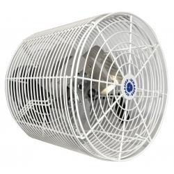 Schaefer Versa-Kool Circulation Fan 12 in w/ Tapered Guards, Cord & Mount - 1470 CFM