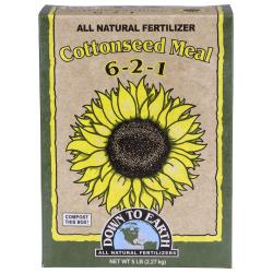 Down To Earth Cottonseed Meal - 5 lb