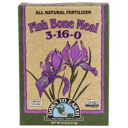 Down To Earth Fish Bone Meal - 5 lb