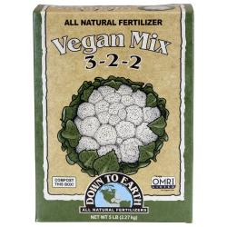 Down To Earth Vegan Mix - 5 lb