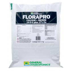 General Hydroponics FloraPro Calcium + Micros Soluble 25 lb bag (80/Plt)