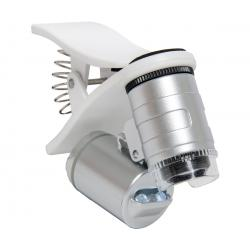 Active Eye Universal Phone Microscope, 60x, w/clamp