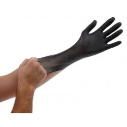 Black Lightning Gloves, large, box of 100 gloves