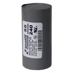 Capacitor, Sodium, 400W/Dry 55 MFD/240 VAC MIN (Advance)