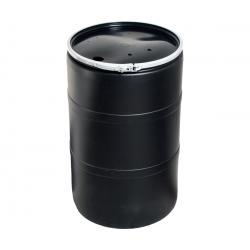 55 gal Drum with Pre-Drilled Locking Lid