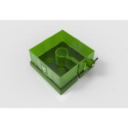 FloraFlex Square Flood and Drip Shield plus Quicker Dripper