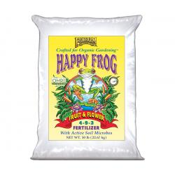 FoxFarm Happy Frog® Fruit & Flower Fertilizer, 50 lb bag