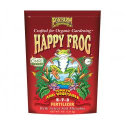 FoxFarm Happy Frog® Tomato & Vegetable Fertilizer, 4 lb bag
