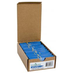 "Hydrofarm Plant Stake Labels, Blue, 4"" x 5/8"", case of 1000"