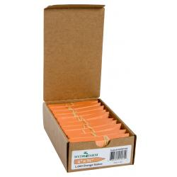 "Hydrofarm Plant Stake Labels, Orange, 4"" x 5/8"", case of 1000"