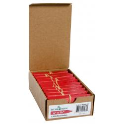 "Hydrofarm Plant Stake Labels, Red, 4"" x 5/8"", case of 1000"