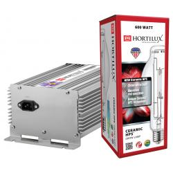 Hortilux Ceramic HPS Lamp and Ballast Kit, 600W, 120/240V