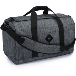 Revelry Supply The Around-Towner Medium Duffle, Striped Black