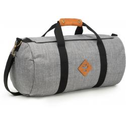 Revelry Supply The Overnighter Small Duffle, Crosshatch Grey
