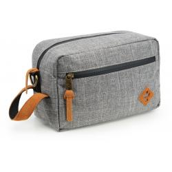 Revelry Supply The Stowaway Toiletry Kit, Crosshatch Grey