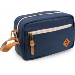 Revelry Supply The Stowaway Toiletry Kit, Navy Blue