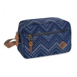 Revelry Supply The Stowaway Toiletry Kit, Indigo