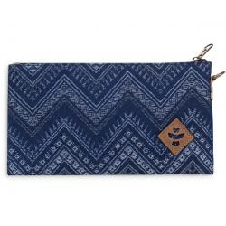 Revelry Supply The Broker Zippered Money Bag, Indigo