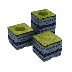 "Grodan Delta 4 Block, 3"" x 3"" x 2.5"", no hole, case of 384"