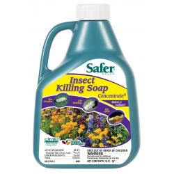 Safer Insect Killing Soap Concentrate, 16 oz