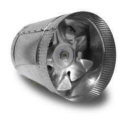 Vortex Powerfan VTA In-line tube axial 6'', 115V/1PH/60Hz, 210 CFM