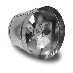 Vortex Powerfan VTA In-line tube axial 8'', 115V/1PH/60Hz, 332 CFM