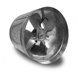 Vortex Powerfan VTA In-line tube axial 10'', 115V/1PH/60Hz, 411 CFM