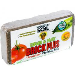Wonder Soil Expand & Plant Brick Plus, 1.5 lbs
