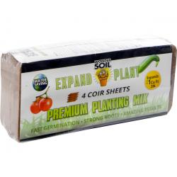 Wonder Soil Expand & Plant Premium Soil Sheets, pack of 4