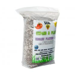 Wonder Soil Expand & Plant Organic Coir Granules with Perlite, 10 lbs