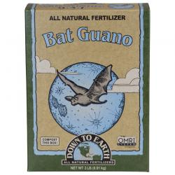 Down to Earth BAT GUANO 7-3-1 OMRI 2 lb 6/CS