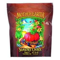 Mother Earth Seasons Choice Tomato & Vegetable Mix 4-5-6 4.4LB/6