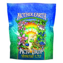 Mother Earth Acid Drop Formulated For Your Acid Loving Plants 3-4-6 4.4LB/6