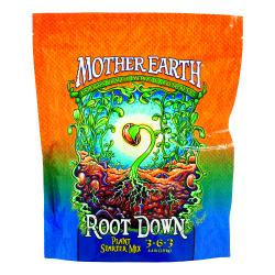 Mother Earth Root Down Plant Starter Mix 3-6-3 4.4LB/6