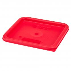 Cambro Square Food Storage lid for   8 Quart-Red
