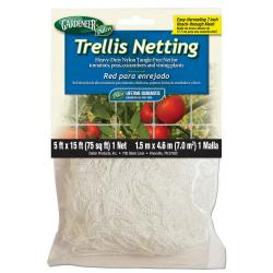 Gardeneer Trellis Netting 5 ft x 15 ft w/ 7 in Holes