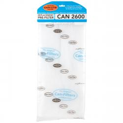 Can Replacement Pre-Filter 2600