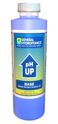 General Hydroponics pH Up 8 Ounces - Case of 12